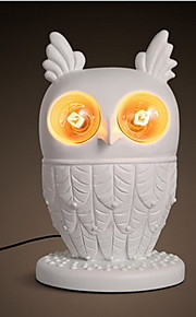 Nordic Modern Bedroom Bedside Living Room Cute Owl Lamp