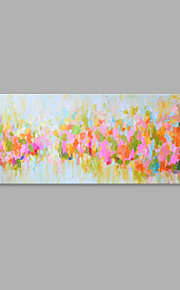 IARTS® Hand Painted Modern Abstract Floral Field Landscape Oil Painting On Canvas with Stretched Frame Wall Art For Home Decoration Ready To Hang