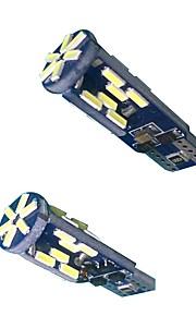 Can-bus fout gratis 10w t10 led lamp (2 stuks)