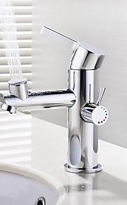 deckenmontiert Keramisches Ventil Einhand Ein Loch for  Chrom , Waschbecken Wasserhahn