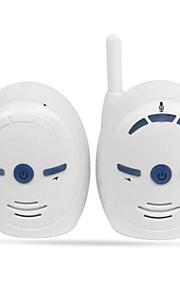 2.4g draadloze audio baby monitor voice-transmitter interfoon volume aanpassing