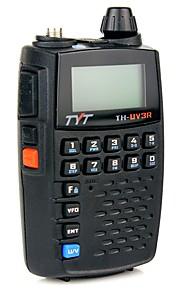 Tyt th-uv3r zakformaat handheld tweerichtings radio vhf / uhf dual band FM radio functie usb opladen scrambler walkie talkie