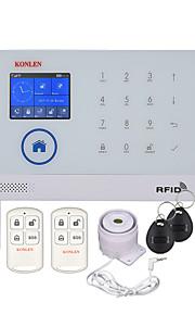 wifi gsm rfid système d'alarme de sécurité avec appareil photo option ip pour maison intrus sécurité anti-intrusion sécurité vocale