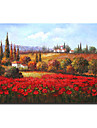 Stretched Hand Made landscape Oil Painting - Free Shipping (0695 -LA-97)
