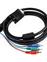 VGA till komponent video TV-ut-kabel 0.1m