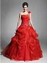 Rochie de bal brat rochie organza cu aplicatii de ts couture®