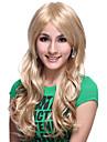 sem tampa extra longo de alta qualidade sintetica luz peruca loira corpo cabelo ondulado