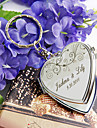Personalized Stainless Steel Compact Mirror Favor – Summer Breeze