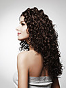Capless lång topp grade-kvalitet syntetiska lockigt hår peruk flera färger