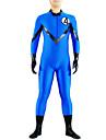 Costumes zentai Ninja Costume Zentai Costumes de Cosplay Bleu Couleur Pleine Collant/Combinaison / Costume Zentai / Combinaison-pantalon