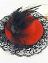 Dame/Blomsterpige Legering/Blonde Headpiece Bryllup/Spesiell Leilighet/Avslappet/Kontor & Karriere/Utendoers HatterBryllup/Spesiell