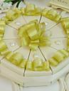 10 Piesă/Set Favor Holder-Piramidă Hârtie cărți de masă Cutii de Savoare
