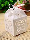 12 Piece/Set Favor Holder - Cubic Pearl Paper Favor Boxes