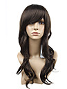 Capless Fashion Cute Nature Curly Charm Brown Synthetic Wig 2 Colors To Choose
