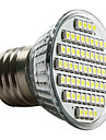 4W E26/E27 LED-spotlights MR16 60 SMD 3528 180 LM Naturlig vit AC 220-240 V