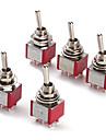 Interrupteur a bascule pour 6p electronique bricolage (5 pieces par paquet)