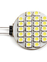 1.5W G4 LED Spot Lampen 24 SMD 3528 60 lm Natuerliches Weiss DC 12 V