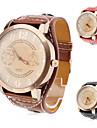 Women\'s Watch Fashion Big Dial PU Band