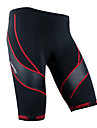 SANTIC Cycling Bottoms / Shorts Men\'s Breathable / Quick Dry / Wearable / Reflective Strips / 3D Pad Bike High ElasticitySpandex /