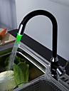 Sprinkle® by Lightinthebox - Painting Finish Kitchen Faucet with Color Changing LED Light
