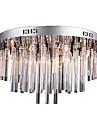 sl® modern kristallkrona med 12 lampor