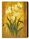 """Dipinti a mano pittura a olio floreale con la struttura su tela 24 """"x 36"""""""