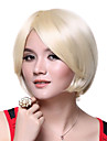 Capless Fashion Top Quality 100% Human Hair Light Blonde Short Wig