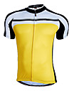 Nuckily Maillot de Cyclisme Homme Manches courtes Velo Maillot Hauts/Tops Sechage rapide Zip frontal Vestimentaire Respirable100 %
