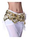 Performance Dancewear 218 Coins Velvet Belly Dance Belt For Ladies More Colors