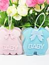 Baby Shower Party Favors & Gifts 12Stuk/Set Bedank Tassen Geweven Stof Klassiek Thema Niet-gepersonaliseerd Roze/Blauw