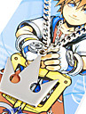Bijoux Inspire par Kingdom Hearts Sora Anime/Jeux Video Accessoires de Cosplay Colliers Argente Alliage Masculin