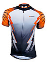 NUCKILY® Cycling Jersey Men\'s Short Sleeve Bike Breathable / Quick Dry / Front Zipper / Wearable / Sweat-wicking Jersey / Tops100%