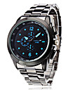 Men's Business Style Silver Alloy Quartz Wrist Watch (Assorted Colors) Cool Watch Unique Watch Fashion Watch