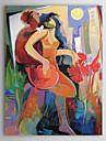 Hand Painted Oil Painting Abstract People 1303-AB0424