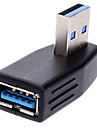 USB 3.0 90-graders till höger adapter