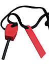 De magnesium de survie baton avec corde en nylon et allumage de fer (couleur aleatoire)