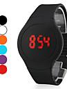 Da uomo Guarda Digitale Orologio sportivo LED / Touchscreen / Calendario Silicone Banda Orologio da polso
