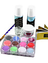 Sculpture 7PCS Sculpture acrylique Nail Art Nail Suit