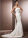 Lanting Bride® A sirena Petite / Taglie forti Abito da sposa - Moderno / Glamour / Da ricevimentoIspirazione Vintage / Abiti da Sposa