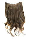 "20"" Clip in Hair Extensions Curly  Brown"
