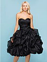 Lanting Bride® Ball Gown Petite / Plus Sizes Wedding Dress - Chic & Modern / Glamorous & DramaticWedding Dresses in Color / Black Wedding