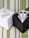 드레스와 턱시도 디자인 호의 상자 (더 색) 12 개 세트 -