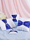 collection de mariage splendeur mis en bleu royal (4 pieces)