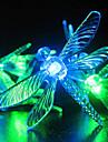 Lumini solare de gradina, 30 Multi colorate Dragonfly Lumini LED (Cis-57178)