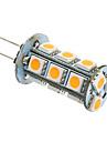 3W G4 / GU4(MR11) LED-lampa T 18 SMD 5050 180-220 lm Varmvit / Kallvit AC 12 V