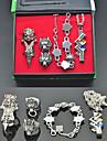 Smycken Inspirerad av Final Fantasy Tidus Animé/ Videospel Cosplay Accessoarer Halsband / Armband Silver Legering Man