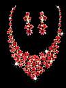 Ensemble de bijoux Stras/Zircon Alliage Femme