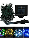 22M 200-LED Colorful String Lights Blue Corn Julpynt Fairy Light (CIS-57182)