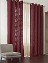 två paneler moderna blomning av livet energispar gardiner draperier med ren set