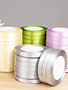 Solid Color Satin Ribbon - Set of 10 Rolls (More Colors)